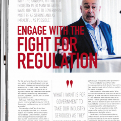 Engage with the Fight for Regulation  (Evo)