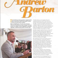 Andrew Barton discusses the importance of State Registration