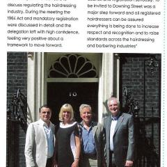 The Hairdressing Council at No 10
