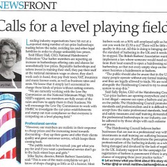 NHF CEO Hilary Hall calls for a level playing field