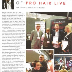 Chris Foster at Pro Hair Live