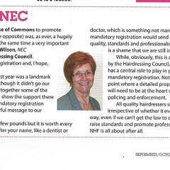 Ann Goddard-Wilson talks about State Registration