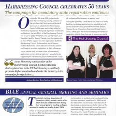 The Hair Council celebrates 50 years